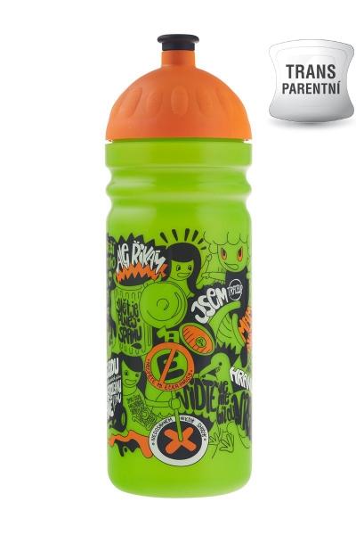 Zdravá fľaša - 0.7l - Street art - Limitovaná edícia