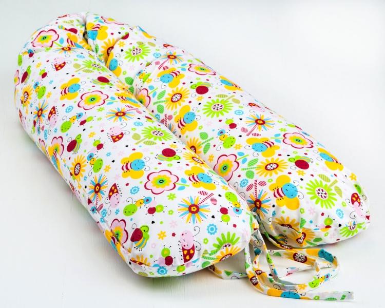 Dojčiace vankúš - relaxačné poduška Nellyska Multi - Farebná lúka