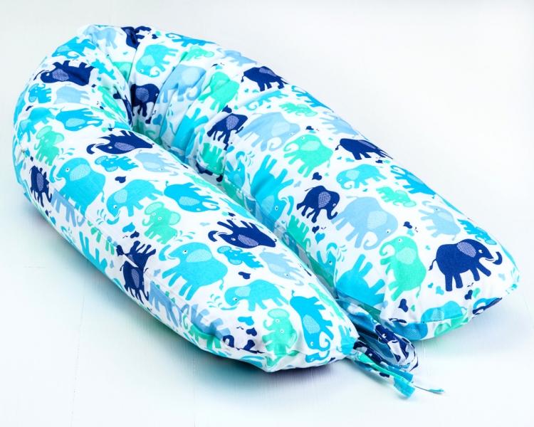 Dojčiace vankúš - relaxačné poduška Nellyska Multi - elefantes