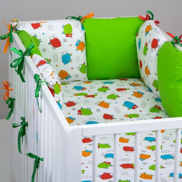 Mantinel Baby Nellys ® - vankúšikový s obliečkami vzor č. 278108