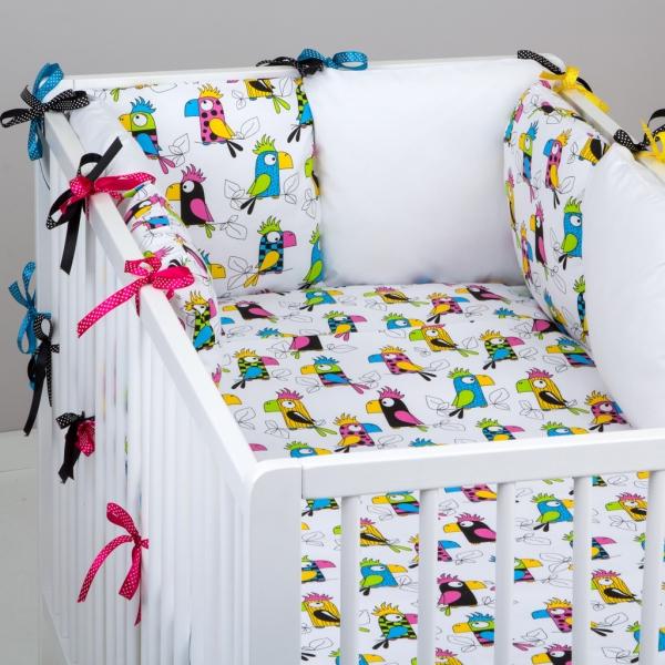 Mantinel Baby Nellys ® - vankúšikový s obliečkami vzor č. 287199