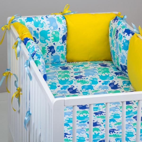 Mantinel Baby Nellys ® - vankúšikový s obliečkami vzor č. 340101