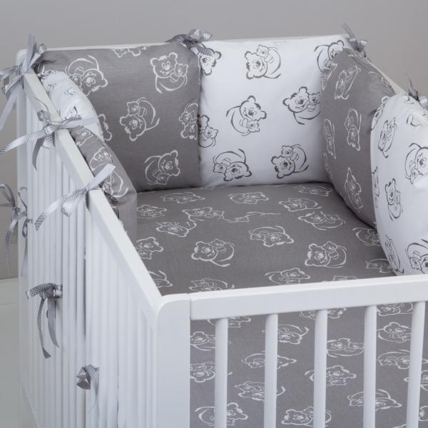 Mantinel Baby Nellys ® - vankúšikový s obliečkami vzor č. 346245