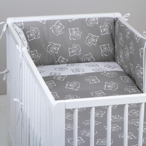 Mantinel s obliečkami Baby Nellys ® vzor č. 346345