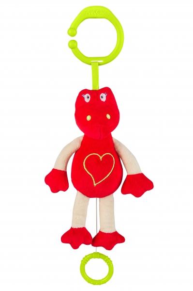 BabyOno Závesná hračka s hudbou - Dino