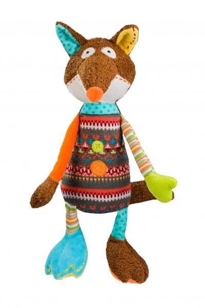 Edukačná hračka Baby Ono - hrkálka - Liška