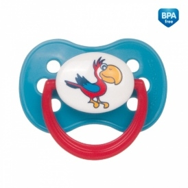 Cumlík Okrúhly 18m + Canpol Babies - Animals Papagáj