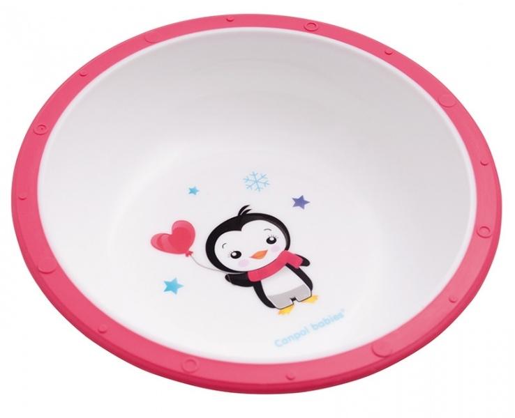 Miska Canpol Babies - Tučniak ružový