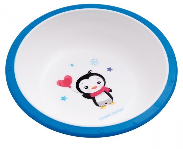Miska Canpol Babies - Tučniak modrý