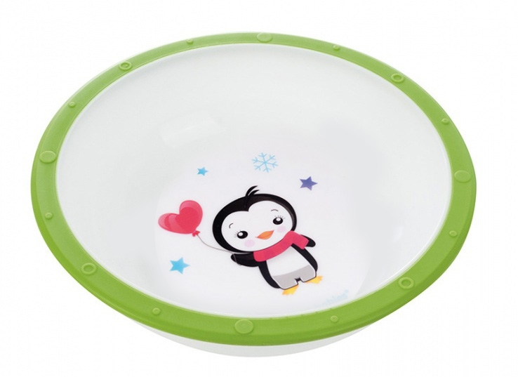 Miska Canpol Babies - Tučniak zelený
