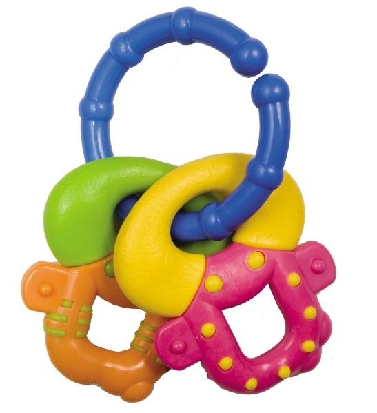 Hryzátko Canpol Babies - Farebné kľúče