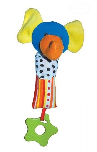 Euro Baby Edukačná hračka - hrkálka - SLON