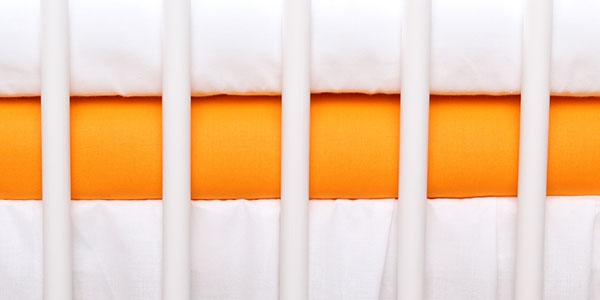 Baby Nellys Jersey plachta oranžová  120x60