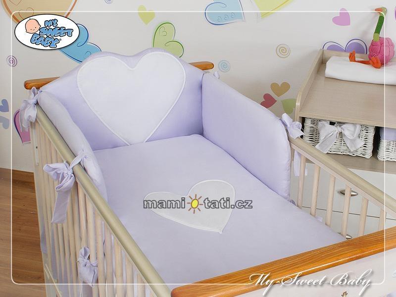 Luxusné obliečky My sweet Baby BIG LOVE - 120x90 L