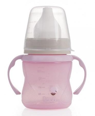 Kúzelný tréningový hrnček LOVI 6+, ružový - retro