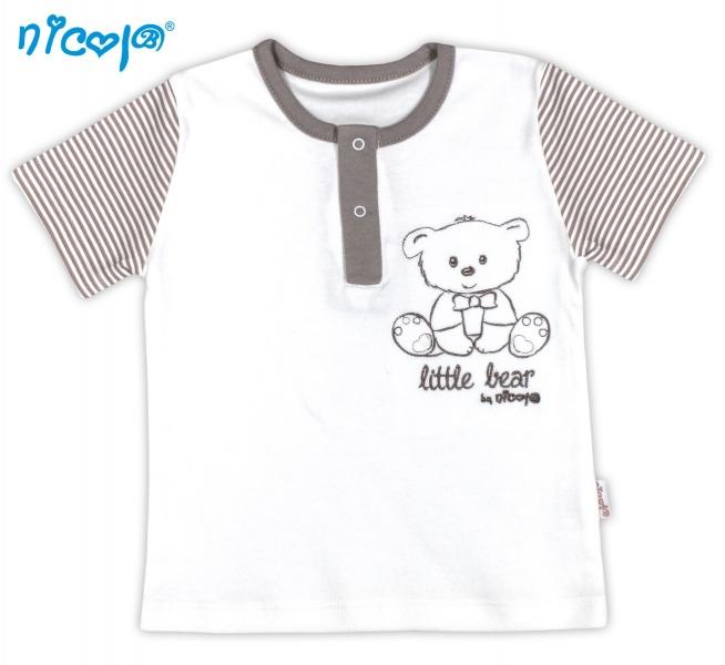 Tričko kr.rukáv NICOL Malý medvedík