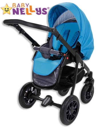 Vložka do kočíka Baby Nellys ® - modrá / tyrkys
