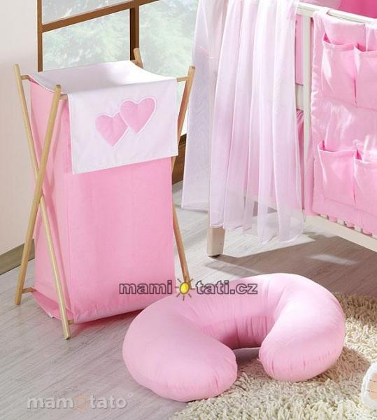 Náhradný poťah kojícího vankúše - Lux ružový