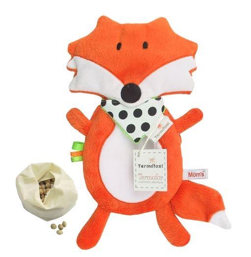 Nahrievacie plyšová hračka Liška s čerešňovými kôstkami
