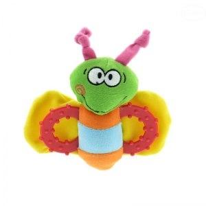 Edukačná hračka - hrkálka - VČIELKA zelená