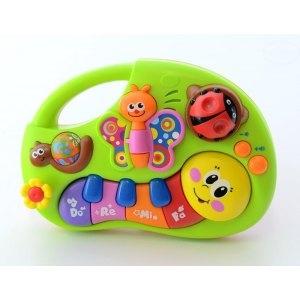 Euro Baby Interaktívna hračka s melódiu - HRAJÚCA HÚSENICA