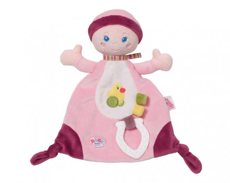 BABY BORN for babies usínáček na maznanie