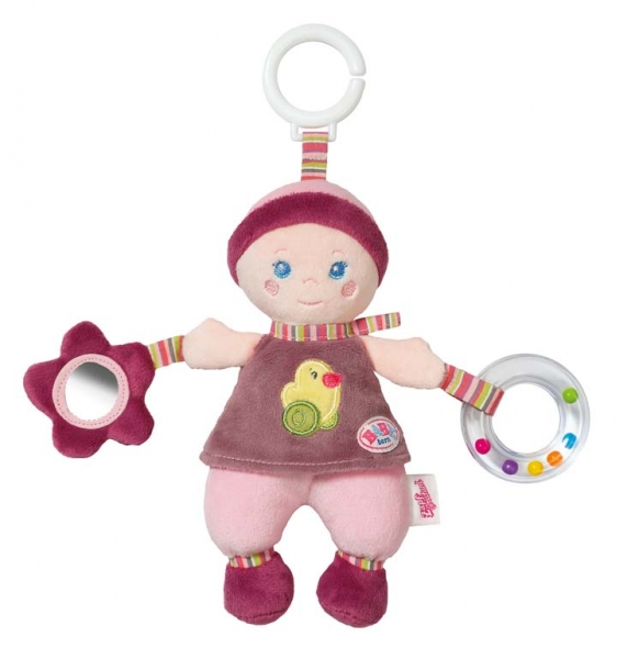 BABY BORN for babies závesná bábika s aktivitami pre bábätko