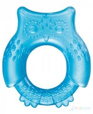 Hryzátko vodné, chladiace Canpol Babies - Malá sova modrá