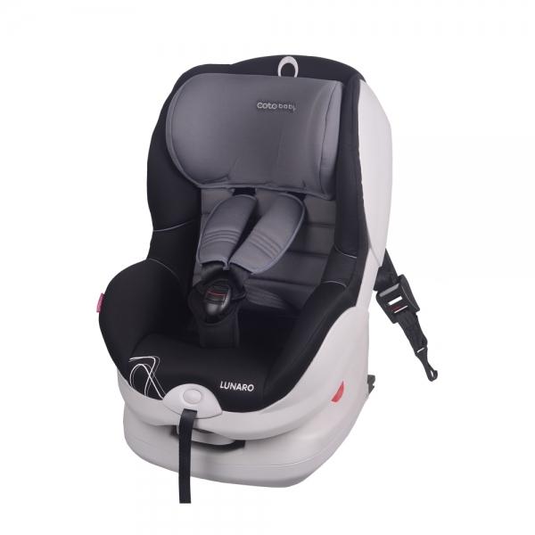 Coto Baby Autosedačka Lunar Isofix - 9-18 kg - sivá / čierna
