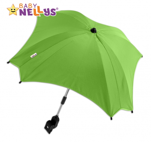 Slnečník, dáždnik do kočíka Baby Nellys ® - zelený