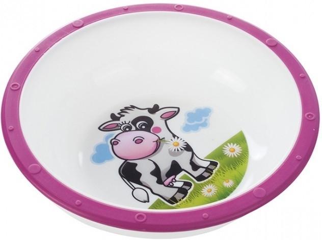 Miska Canpol Babies - Kravička ružová