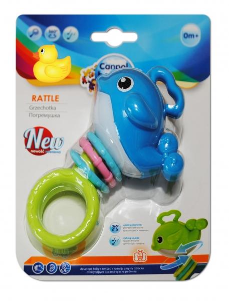 Hrkálka, hryzátko Canpol Babies - Veľryba modrá