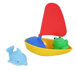 Lodička sa zvieratkami baby do vody