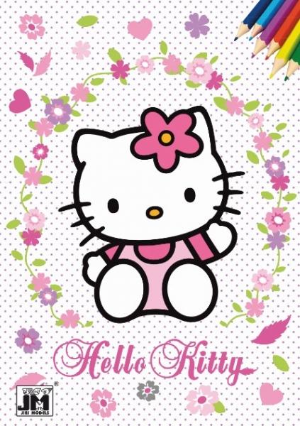 Omaľovánka A5 Hello Kitty