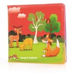 Mäkká knižka pískacia Canpol Babies - Zvieratká