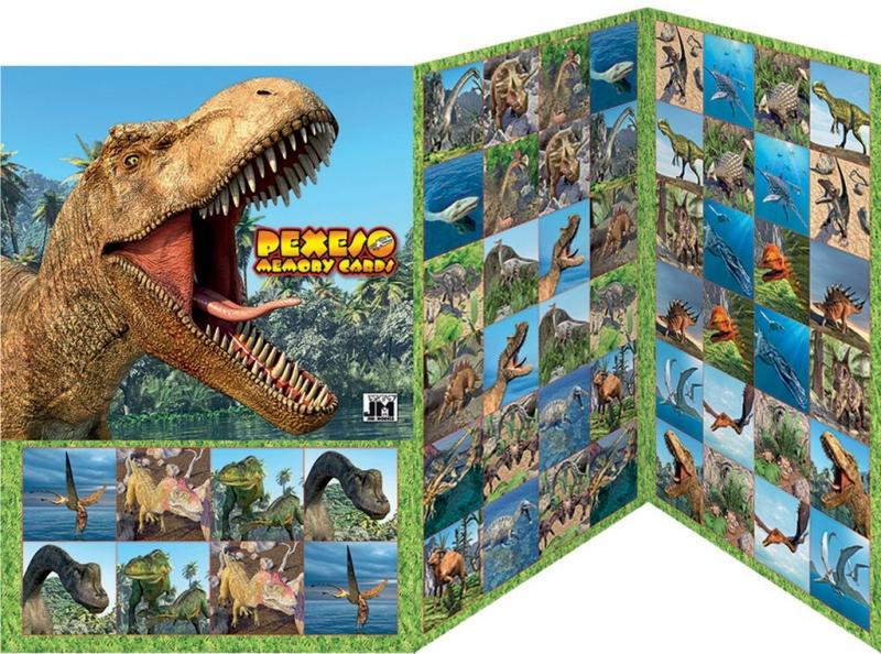 Rappa pexeso Dinosaurus