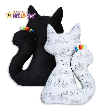 Edukačná hračka MAČKA s Minky Baby Nellys ® - kolesá