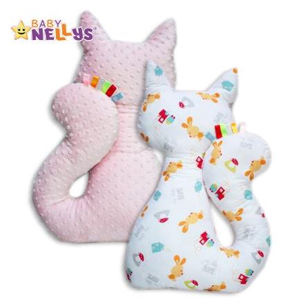Edukačná hračka MAČKA s Minky Baby Nellys ® - zajačik