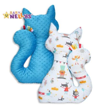 Edukačná hračka MAČKA s Minky Baby Nellys ® - veselý cirkus