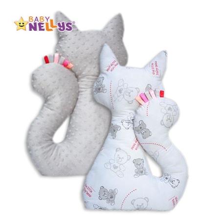 Edukačná hračka MAČKA s Minky Baby Nellys ® - medvedíky