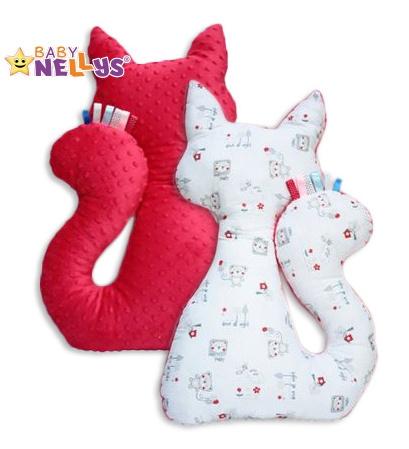 Edukačná hračka MAČKA s Minky Baby Nellys ® - medvedík balónik