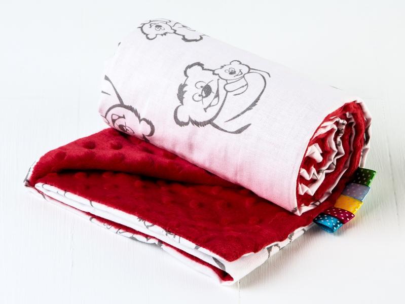 Minka Baby Luxusný dečka - vzor: 345712