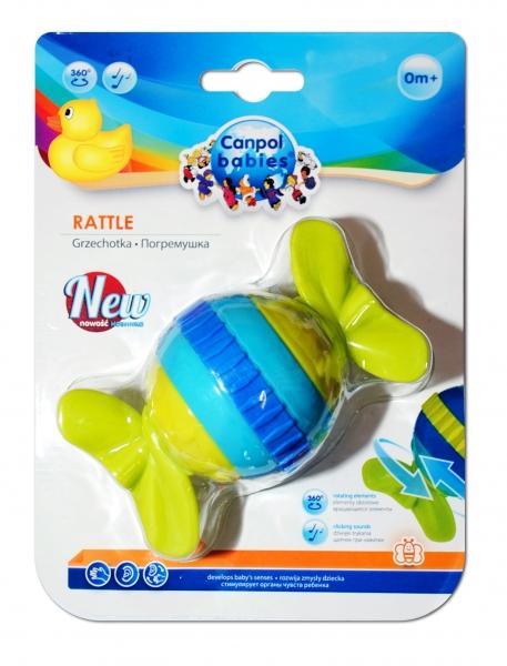 Hrkálka, hryzátko Canpol Babies - Bombónek