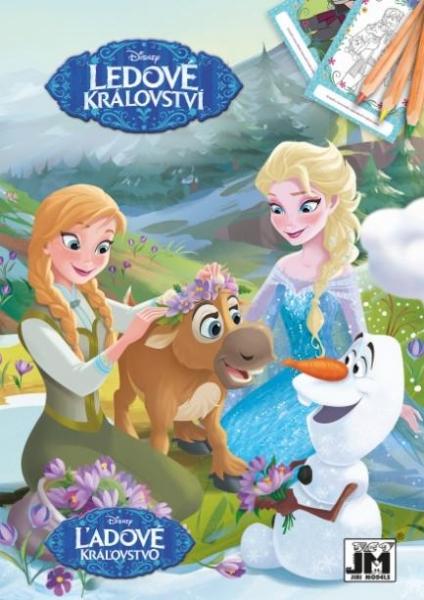 Omaľovánka A5 FROZEN - Ľadové kráľovstvo