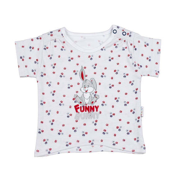 Blúzka / tričko kr. rukáv - Zajačik