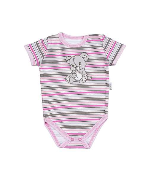 Body Kr. rukáv Mamatti - medvídek