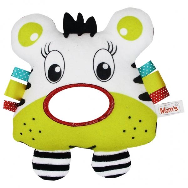 Edukačná hračka s hrkálkou - tigrík - zrkadlo