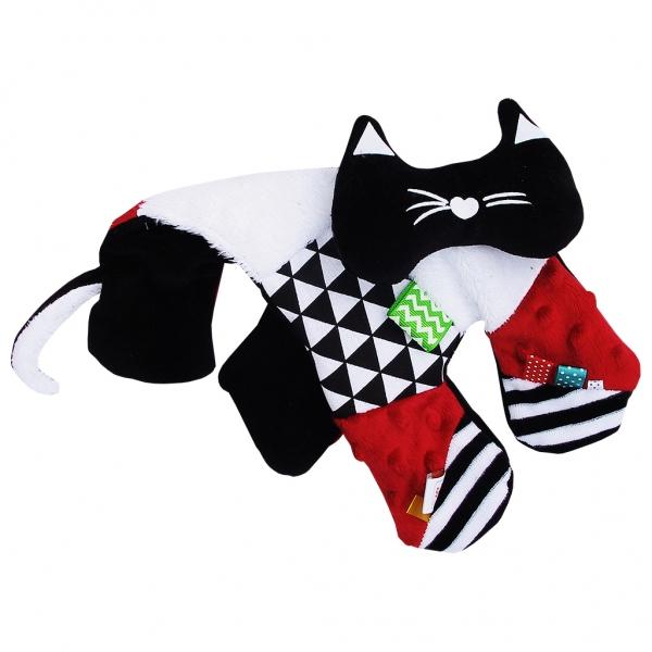 Edukačná hračka šustík - mačiatka