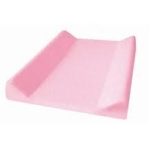Jersey poťah na prebaľovaciu podložku ružový
