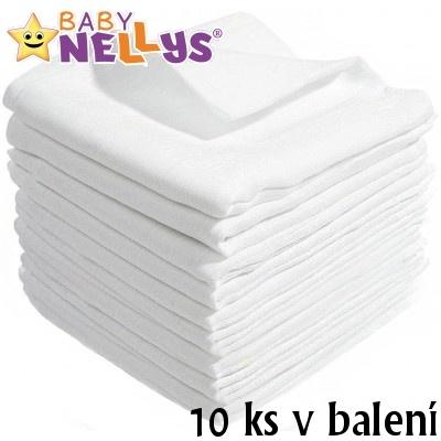 Kvalitné bavlnené plienky Baby Nellys - TETRA LUX 80x80cm, 10 ks v bal.